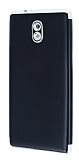 Eiroo Matte Fit Nokia 3 Silver Kenarlı Siyah Silikon Kılıf