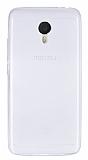 Meizu m3 note Ultra İnce Şeffaf Silikon Kılıf