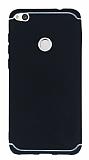 Eiroo Mellow Huawei P9 Lite 2017 Siyah Silikon Kılıf