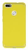 Eiroo Mellow Huawei P9 Lite Mini Sarı Silikon Kılıf