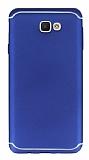 Eiroo Mellow Samsung Galaxy J7 Prime Lacivert Silikon Kılıf