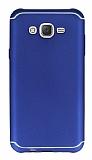 Eiroo Mellow Samsung Galaxy J7 Lacivert Silikon Kılıf