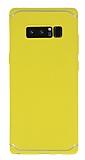Eiroo Mellow Samsung Galaxy Note 8 Sarı Silikon Kılıf