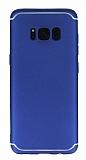 Eiroo Mellow Samsung Galaxy S8 Plus Mavi Silikon Kılıf