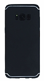 Eiroo Mellow Samsung Galaxy S8 Plus Siyah Silikon Kılıf