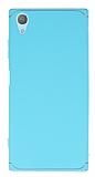 Eiroo Mellow Sony Xperia XA1 Plus Mavi Rubber Kılıf