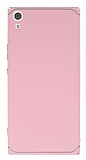 Eiroo Mellow Sony Xperia XA1 Ultra Pembe Rubber Kılıf