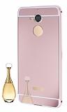 Eiroo Mirror Casper Via A1 Metal Kenarlı Aynalı Rose Gold Rubber Kılıf