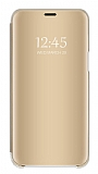Eiroo Mirror Cover Samsung Galaxy A20 / A30 Aynalı Kapaklı Gold Kılıf