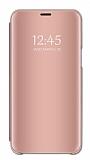Eiroo Mirror Cover Samsung Galaxy M30 Aynalı Kapaklı Rose Gold Kılıf