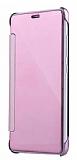 Eiroo Mirror Cover Samsung Galaxy Note 5 Aynalı Kapaklı Rose Gold Kılıf