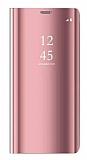 Eiroo Mirror Cover Samsung Galaxy Note 8 Uyku Modlu Aynalı Kapaklı Rose Gold Kılıf