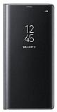 Eiroo Mirror Cover Samsung Galaxy Note 8 Uyku Modlu Aynalı Kapaklı Siyah Kılıf