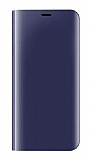 Eiroo Mirror Cover Samsung Galaxy S9 Aynalı Kapaklı Lacivert Kılıf