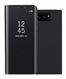 Eiroo Mirror Cover Samsung Galaxy Note 8 Aynalı Kapaklı Siyah Kılıf