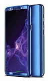 Eiroo Mirror Protect Fit Samsung Galaxy J6 Plus 360 Derece Koruma Lacivert Kılıf