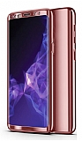 Eiroo Mirror Protect Fit Samsung Galaxy J6 Plus 360 Derece Koruma Rose Gold Kılıf