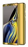 Eiroo Mirror Protect Fit Samsung Galaxy Note 10 360 Derece Koruma Gold Kılıf