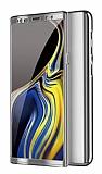 Eiroo Mirror Protect Fit Samsung Galaxy Note 10 Plus 360 Derece Koruma Silver Kılıf