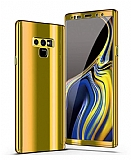 Eiroo Mirror Protect Fit Samsung Galaxy Note 9 Aynalı 360 Derece Koruma Gold Kılıf