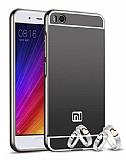 Eiroo Mirror Xiaomi Mi 5s Metal Kenarlı Aynalı Siyah Rubber Kılıf