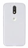 Motorola Moto G4 / G4 Plus Ultra İnce Şeffaf Silikon Kılıf