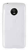 Eiroo Motorola Moto G5 Ultra İnce Şeffaf Silikon Kılıf