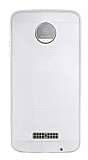 Motorola Moto Z Ultra İnce Şeffaf Silikon Kılıf