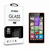 Eiroo Microsoft Lumia 540 Tempered Glass Cam Ekran Koruyucu