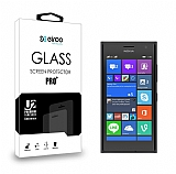 Eiroo Nokia Lumia 730 / 735 Tempered Glass Cam Ekran Koruyucu
