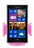 Eiroo Nokia Lumia Serisi Pembe Ara� Tutucu