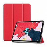 Eiroo iPad 2 / iPad 3 / iPad 4 / Slim Cover Kırmızı Kılıf
