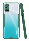 Eiroo Painted Oppo A72 Yeşil Silikon Kılıf