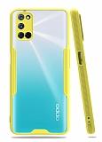 Eiroo Painted Oppo A72 Sarı Silikon Kılıf