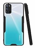 Eiroo Painted Oppo A72 Siyah Silikon Kılıf