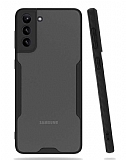 Eiroo Painted Samsung Galaxy A02s Kamera Korumalı Siyah Kılıf