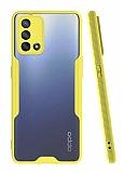 Eiroo Painted Oppo A74 Sarı Silikon Kılıf