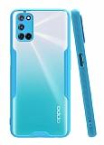 Eiroo Painted Oppo A92 Mavi Silikon Kılıf