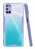 Eiroo Painted Oppo A92 Mor Silikon Kılıf