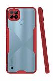 Eiroo Painted Realme C21 Kamera Korumalı Kırmızı Silikon Kılıf