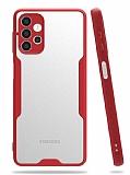 Eiroo Painted Samsung Galaxy A32 4G Kamera Korumalı Kırmızı Kılıf