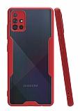 Eiroo Painted Samsung Galaxy A51 Kırmızı Silikon Kılıf
