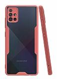 Eiroo Painted Samsung Galaxy A51 Pembe Silikon Kılıf