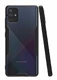 Eiroo Painted Samsung Galaxy A51 Siyah Silikon Kılıf