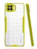 Eiroo Painted Oppo A73 Kamera Korumalı Sarı Kılıf