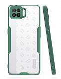 Eiroo Painted Oppo A73 Kamera Korumalı Yeşil Kılıf