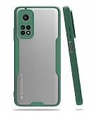 Eiroo Painted Xiaomi Mi 10T / Mi 10T Pro Kamera Korumalı Yeşil Kılıf