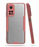 Eiroo Painted Xiaomi Mi 10T / Mi 10T Pro Kamera Korumalı Pembe Kılıf