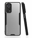 Eiroo Painted Xiaomi Mi 10T / Mi 10T Pro Kamera Korumalı Siyah Kılıf