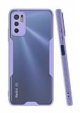 Eiroo Painted Xiaomi Poco M3 Pro Mor Silikon Kılıf